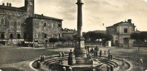 Antica veduta di Palazzo Altieri
