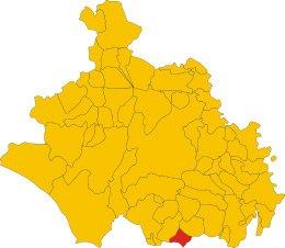 Comune di Oriolo Romano nella provincia viterbese