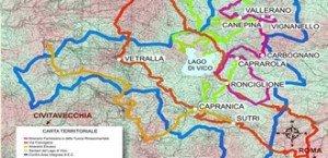 Comune di Capranica - Mappa