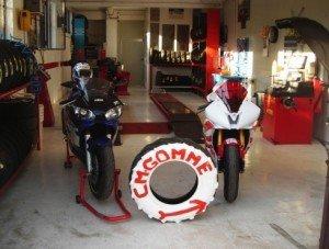 Gommista Viterbo: moto